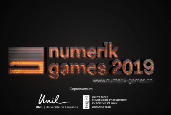 vidéo promotionnelle pour le numerik games 2019